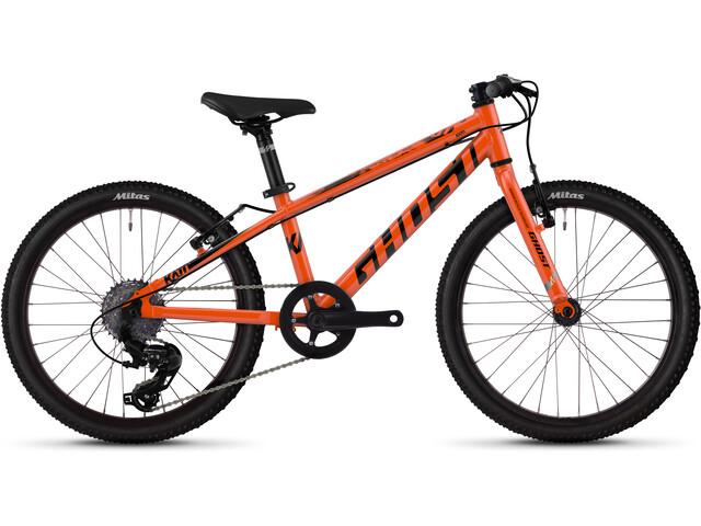 "Ghost Kato R1.0 AL 20"" Lapset, monarch orange/jet black"
